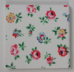 Ceramic Wall Tiles Made With Cath Kidston Linen Sprig
